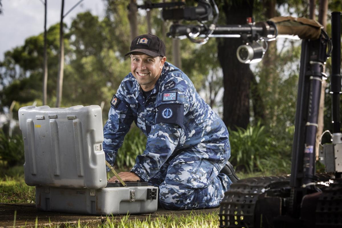 Air Force Explosive Ordnance Reconnaissance Instructor, Corporal Nathan Wilmann has thoroughly enjoyed his 13 year career as a RAAF Avionic and Armament Technician.