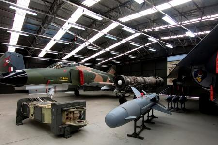 The strike and reconnaissance hangar at RAAF Museum, Point Cook.